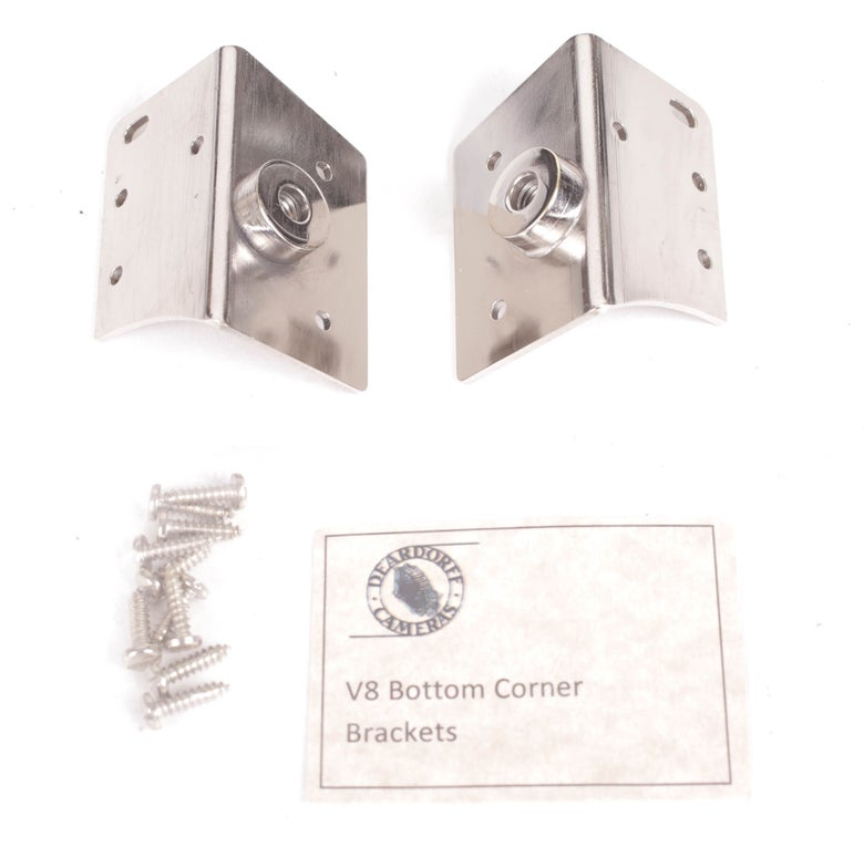 Image of Deardorff V8 Bottom Corner Brackets and Screws