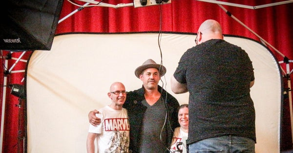 Image of Photo Opportunity with a guest at Stoke CON Trent #8