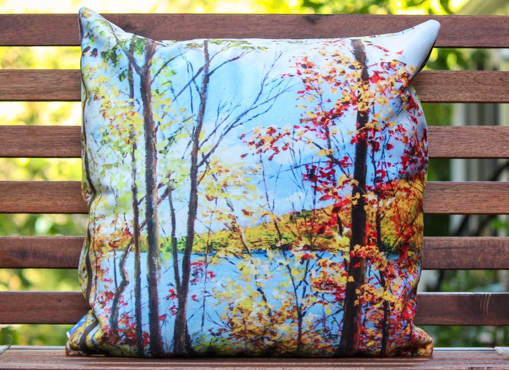 Image of - Lake View Pillow -