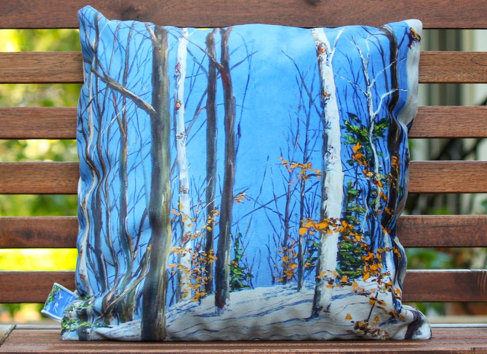 Image of - First Tracks Pillow -