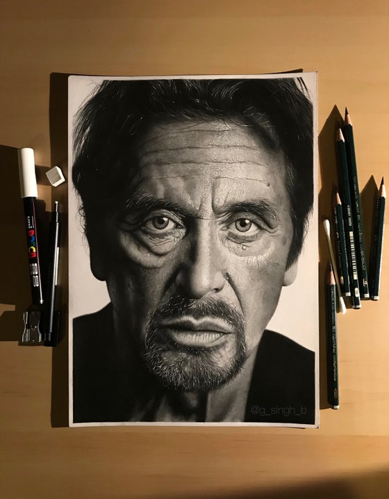 Image of Al Pacino (Print)