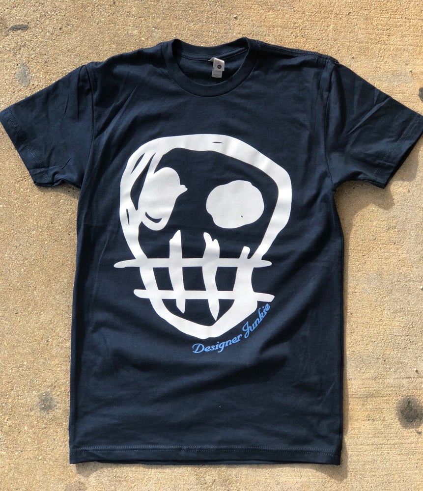 Image of Designer Junkie Apparel Signature Tee (Navy)