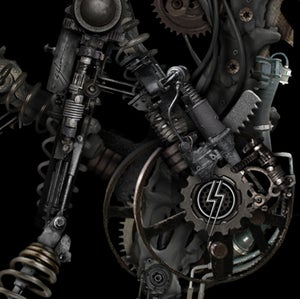 "Image of BIO-MECHANICAL ZOMBUNNIE 11"" X 16"""