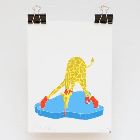 Image of Ice ice baby giraffe