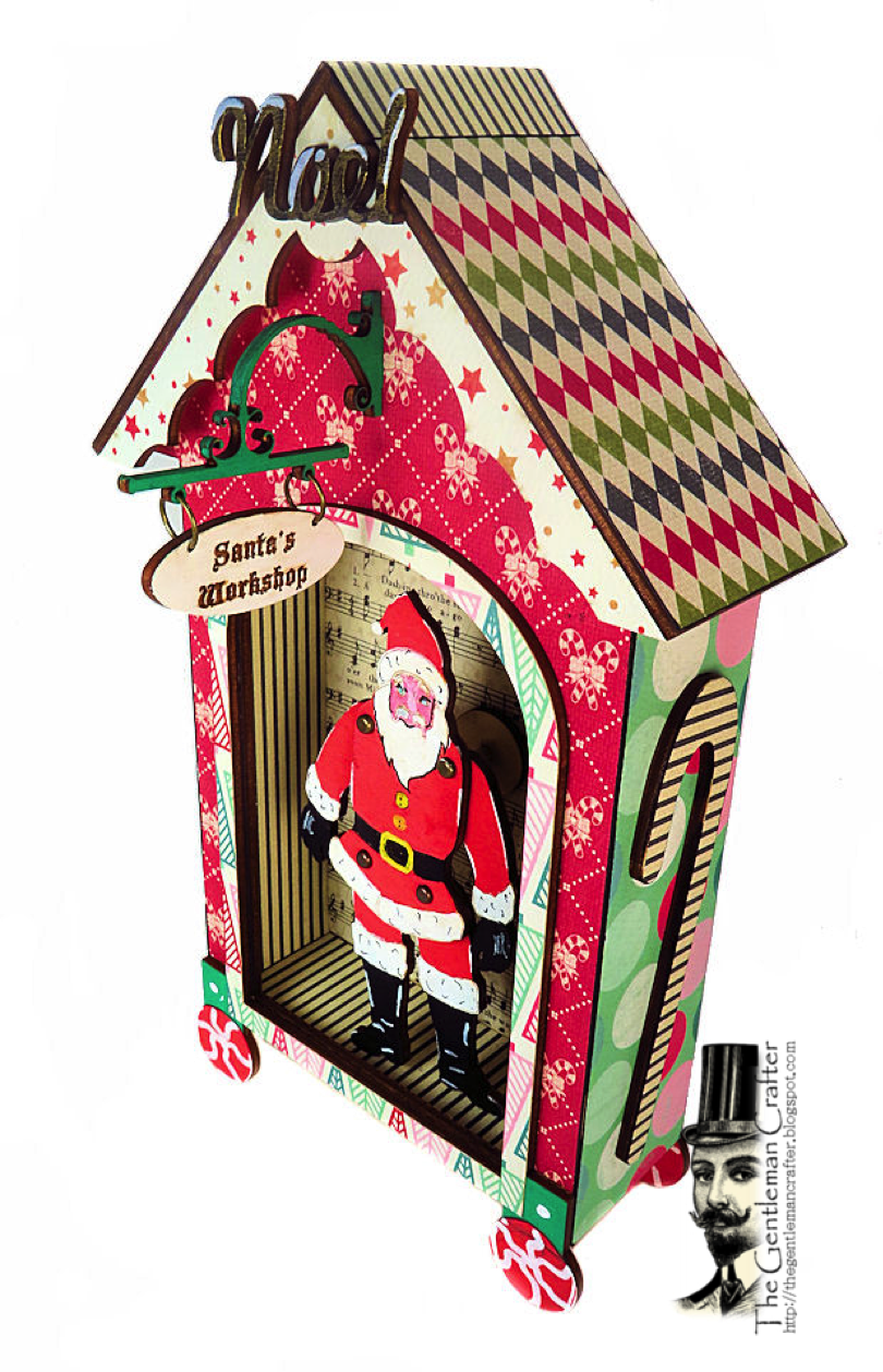 Image of Santa's Workshop Puppet Wood Kit