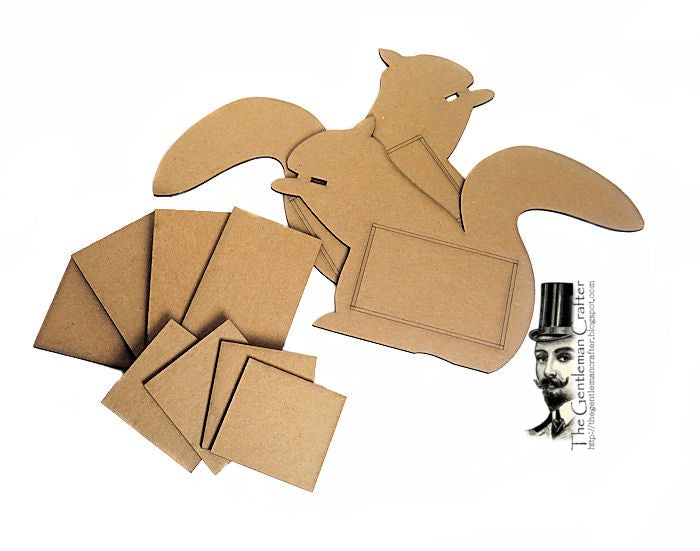 Image of Fall Squirrel Gifted Box