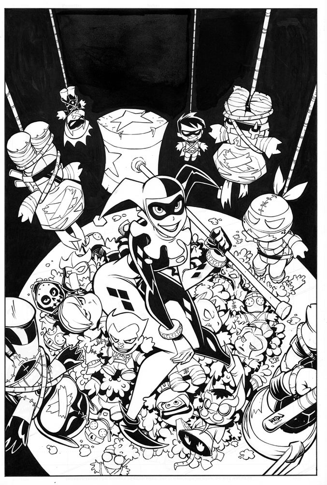 Image of Batman TMNT Adventures Cover 02