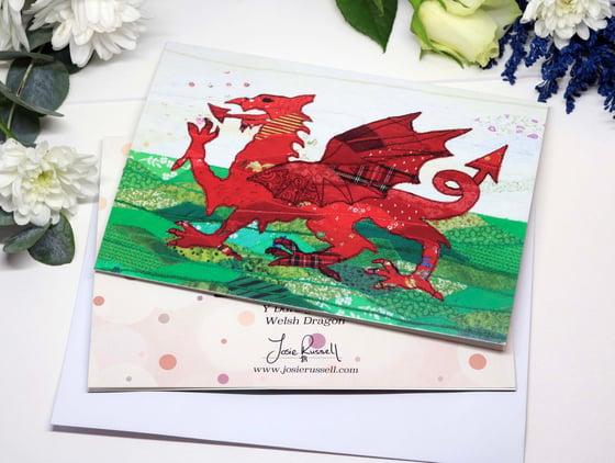 Image of Y Ddraig Goch / Welsh Dragon