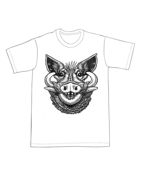 Image of Warthog T-shirt **FREE SHIPPING