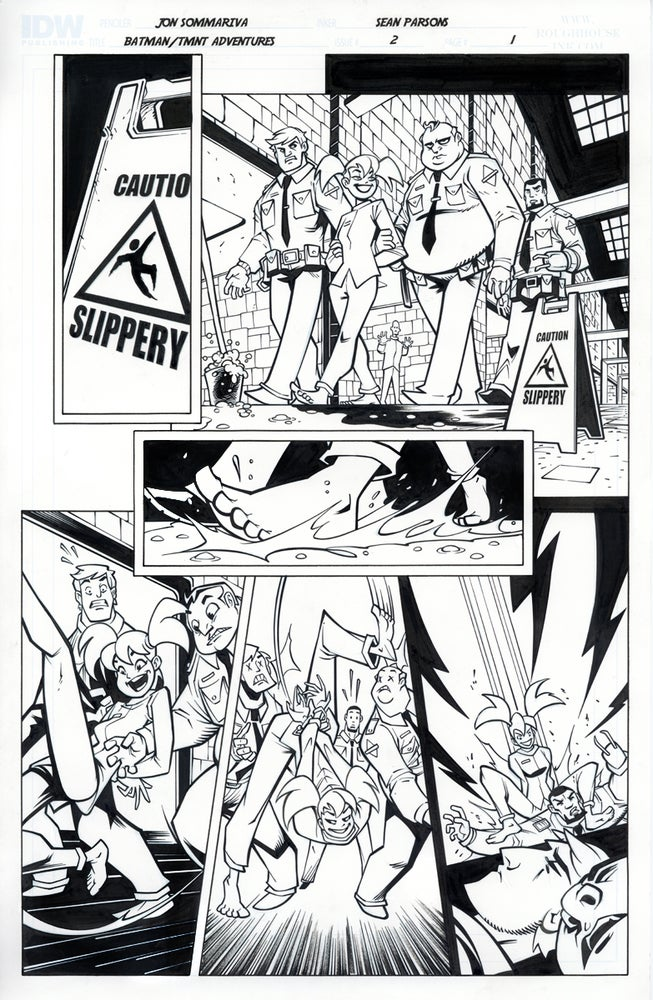 Image of Batman TMNT Adventures 2 Page 1