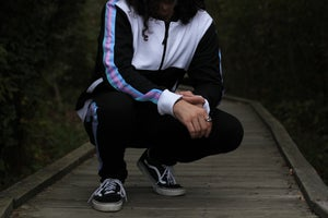 Image of Black Rainbow Sweat Suit Pre-Order