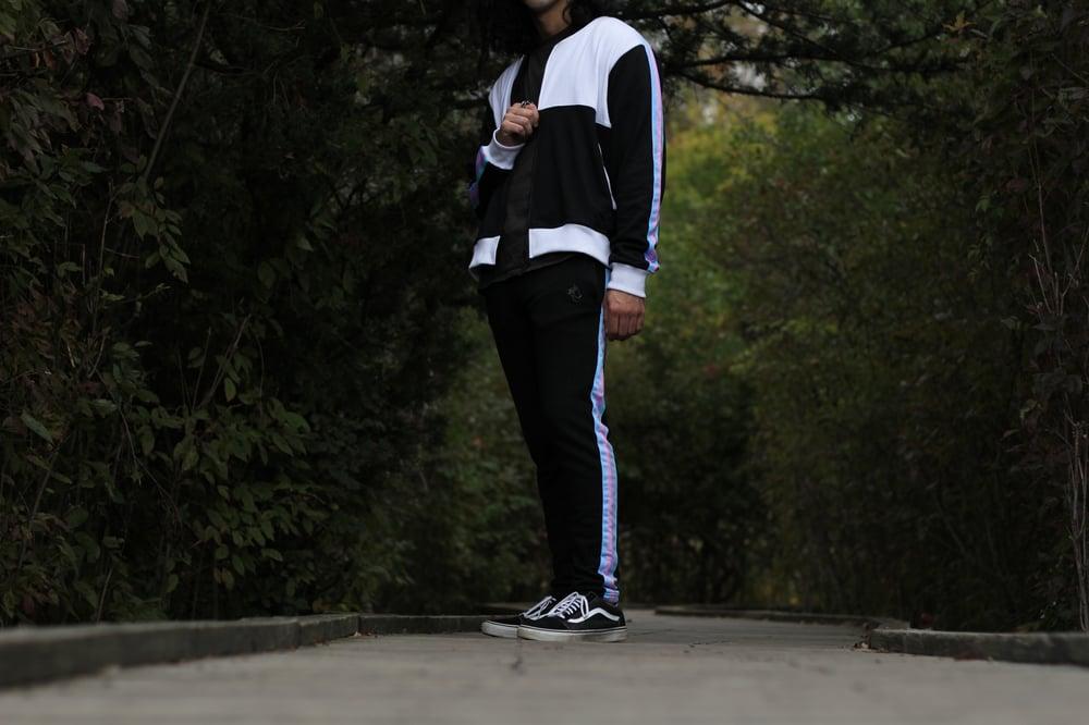 Image of Black Rainbow Sweat Suit Pre-Order