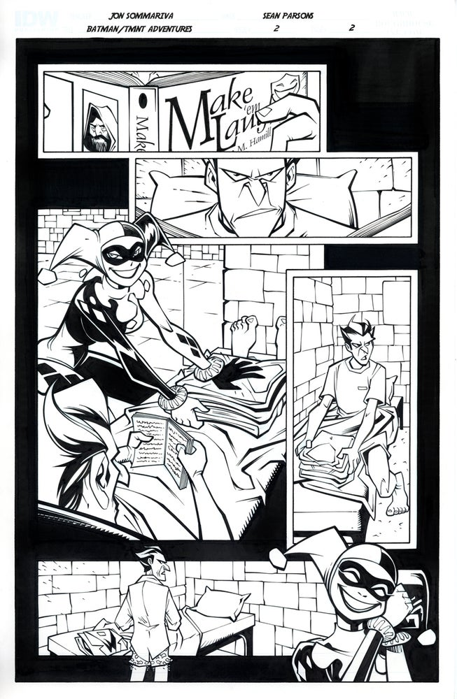 Image of Batman TMNT Adventures 2 Page 2