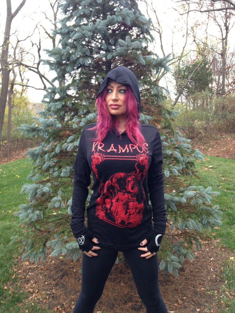 Image of Krampus Hooded Tee