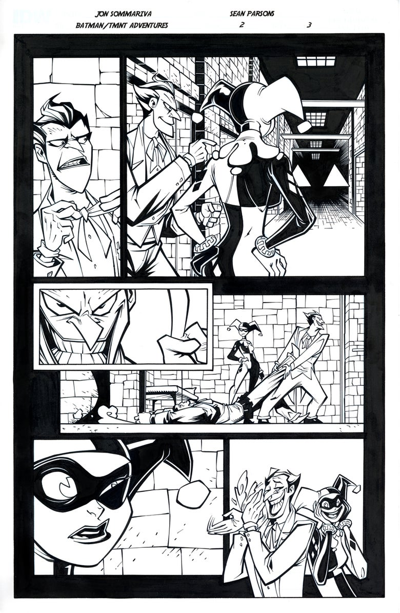 Image of Batman TMNT Adventures 2 Page 3