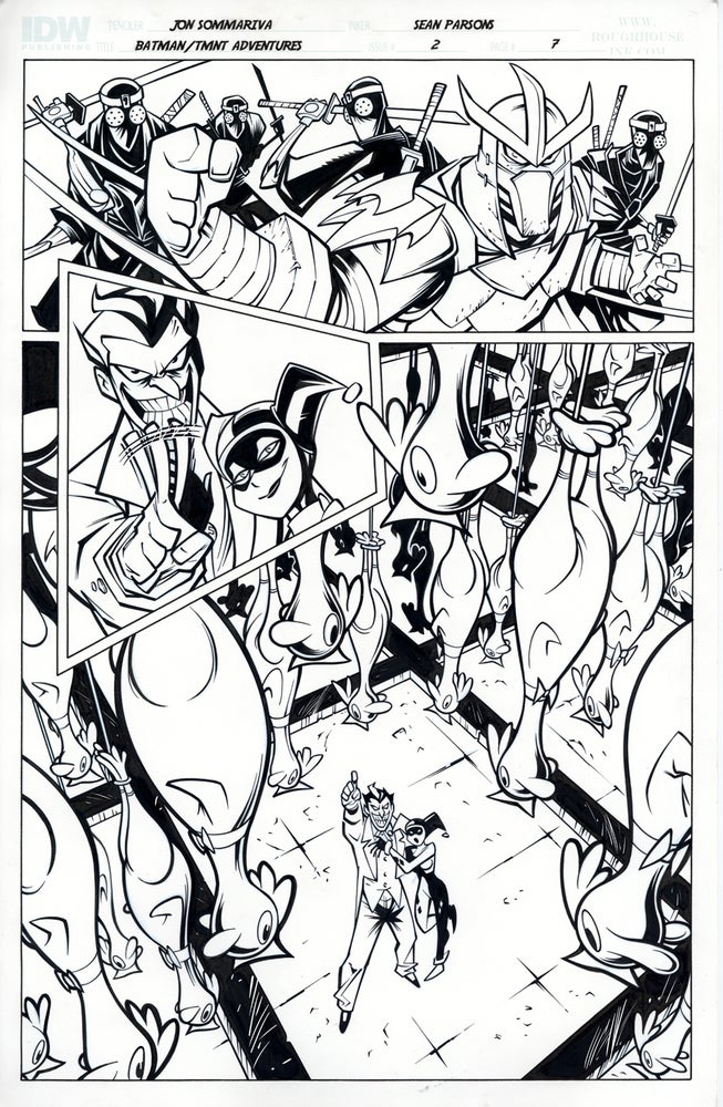 Image of Batman TMNT Adventures 2 Page 7