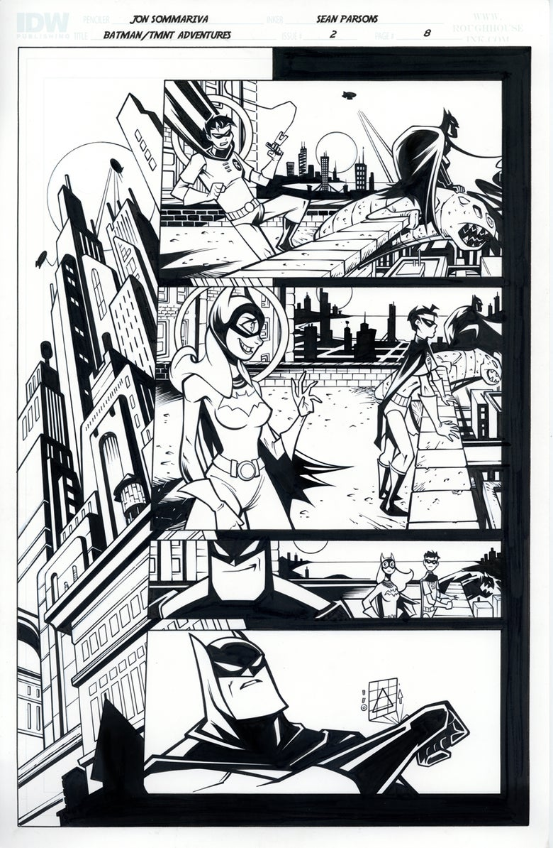 Image of Batman TMNT Adventures 2 Page 8