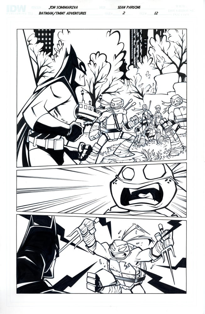 Image of Batman TMNT Adventures 2 Page 12