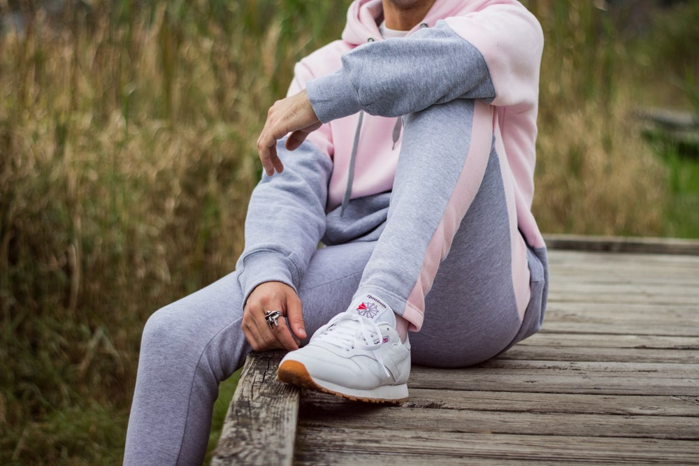 Image of Color Block Sweat Suit