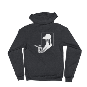Image of AT-AT Shadow - unisex zip hoodie