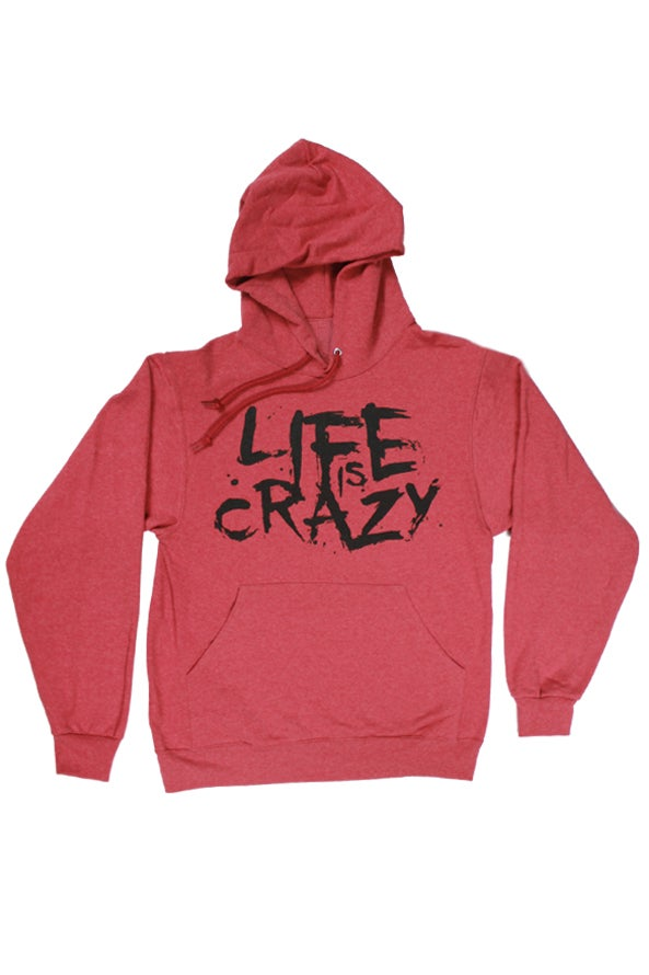 Image of Life is Crazy VHR Hoodie