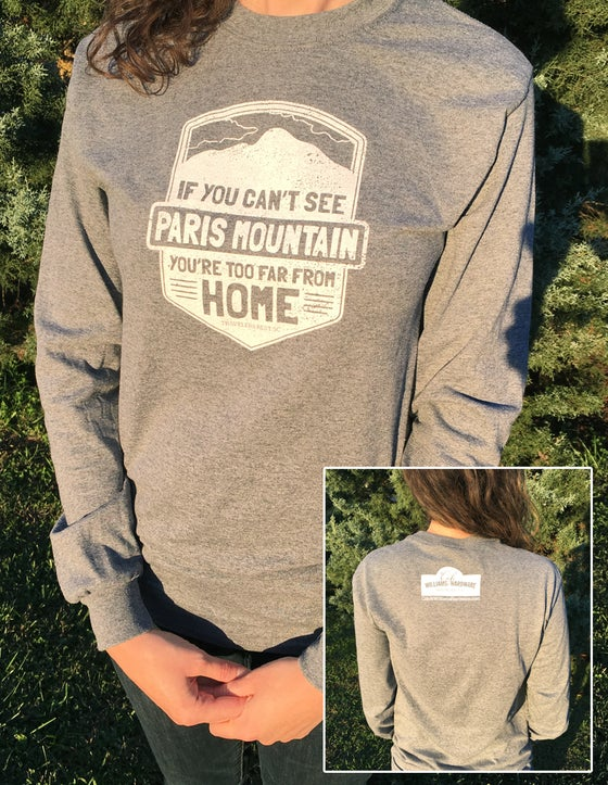 Image of If You Can't See Paris Mountain Comfy Tee - LONG SLEEVE