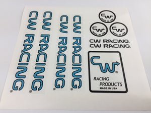 Image of CW Racing Decal set ZX ZS TF