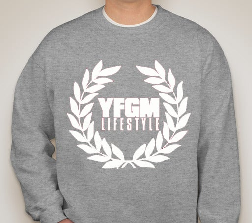 Image of OG YFGM LIFESTYLE CREW NECK SWEATER