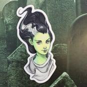 Image of The Bride of Frankenstein Sticker