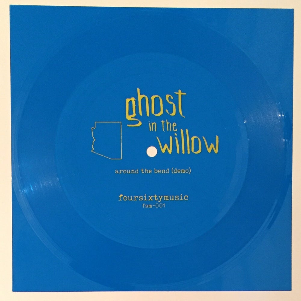"Image of Ghost In The Willow 'Around The Bend' 7"" flexi"