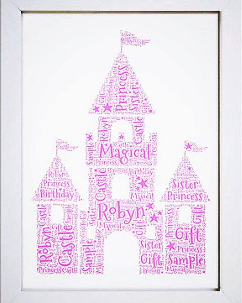 Image of Castle word art
