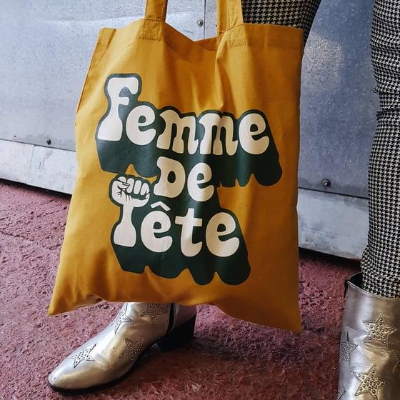 Image of Femme De Tête Tote Bag