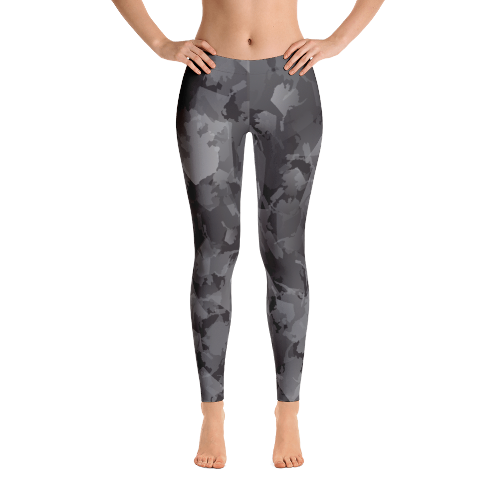 Image of Alaska Pattern Leggings - Night