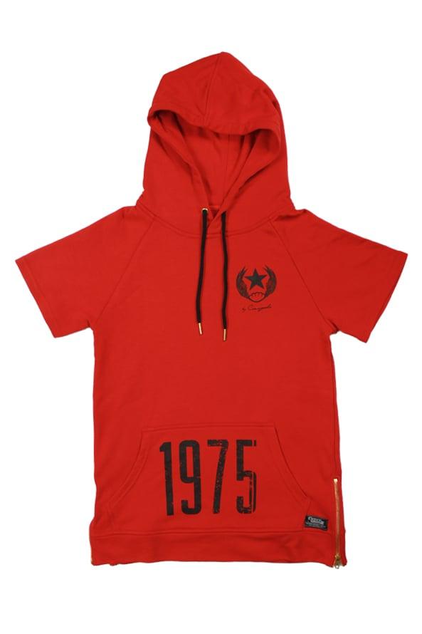 Image of 1975 A.C. Short Sleeve Hoodie