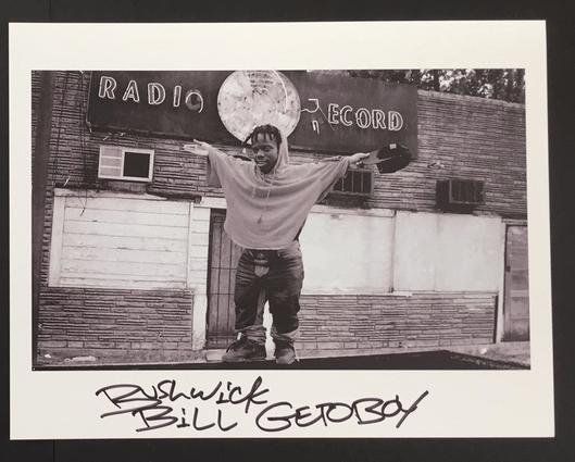 Image of VINTAGE SIGNED PHOTO BUSHWICK BILL