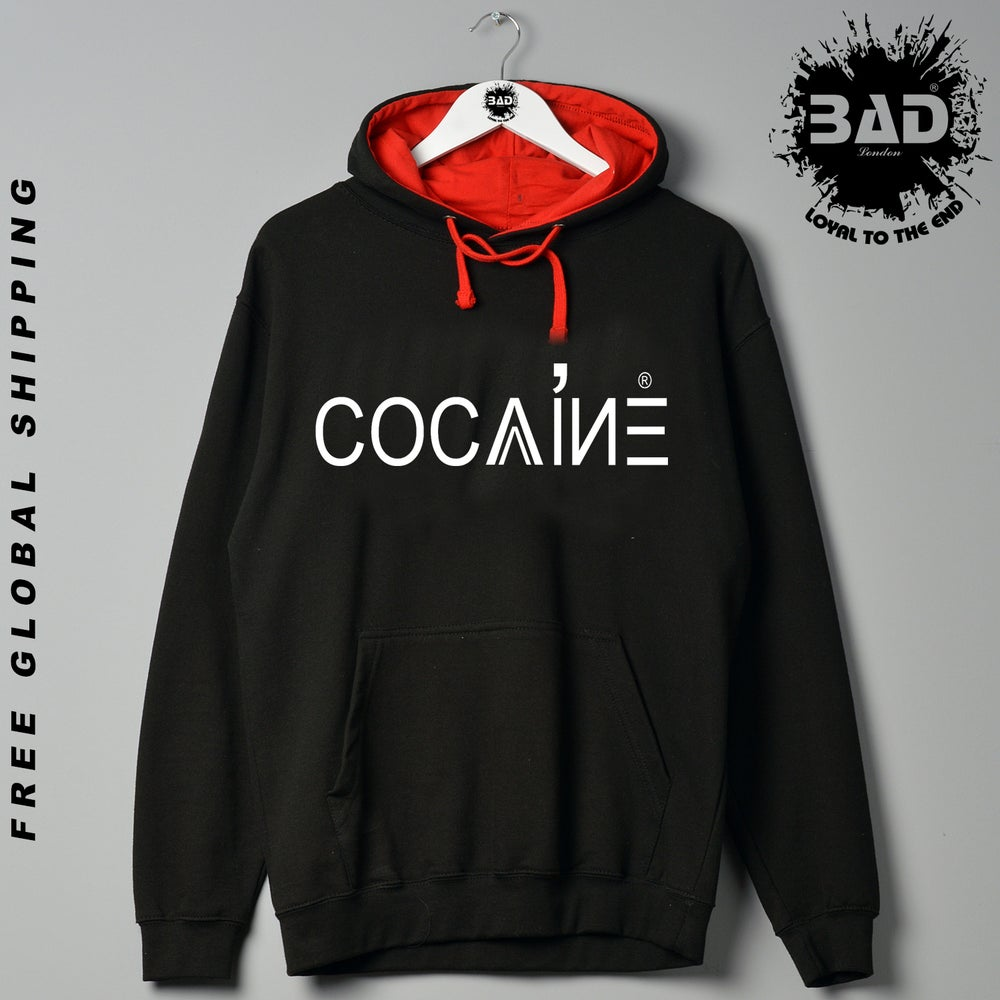 Image of Cocaine Clothing Designer Urban Street Wear Hoddie