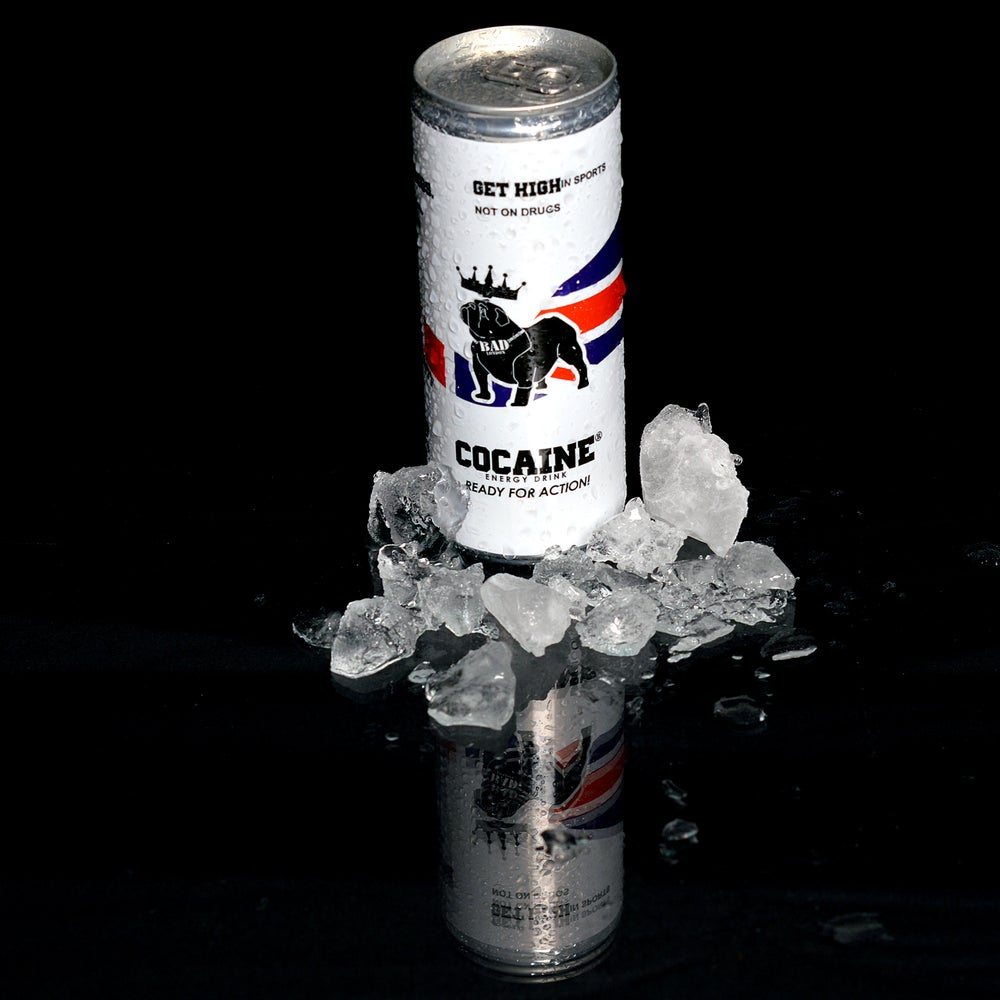 Image of Cocaine Energy Drink 250ml Slim can