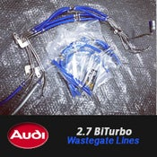 Image of PROJECT:B5 - Audi 2.7 BITURBO Wastegate Line Kit