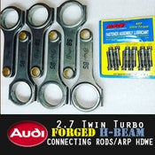 Image of PROJECTB5 - AUDI 2.7TT 30v/2.8 12v H-Beam FORGED RODS & ARP2000 Rod Bolts