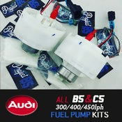 Image of PROJECT:B5 - Audi A4/S4/RS4 & C5: 300/400/450lph DROP-IN Fuel Pump Kits E85/Gas