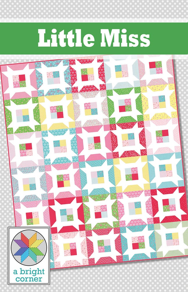 Image of Little Miss Quilt Pattern - PAPER pattern