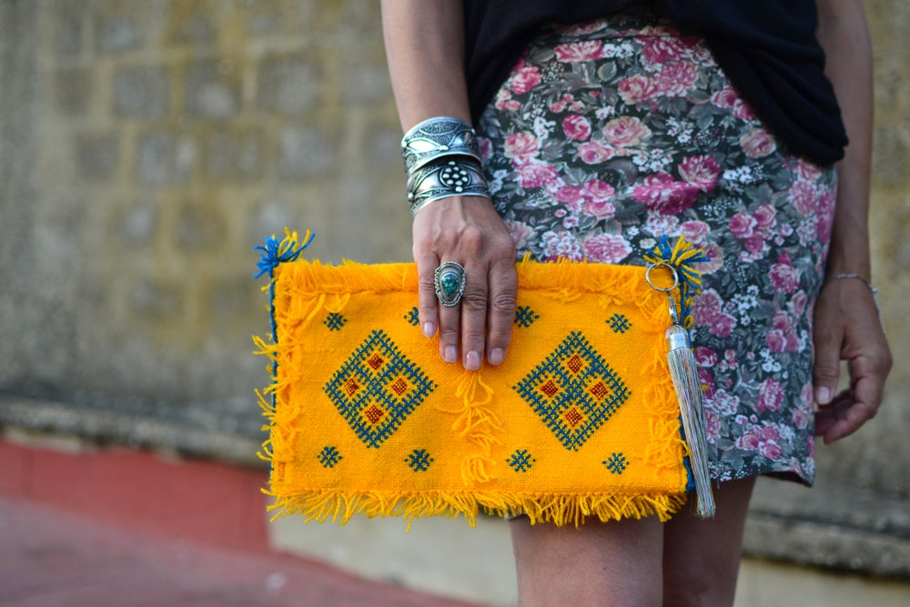 Image of Pochette | Clutch - Broderie