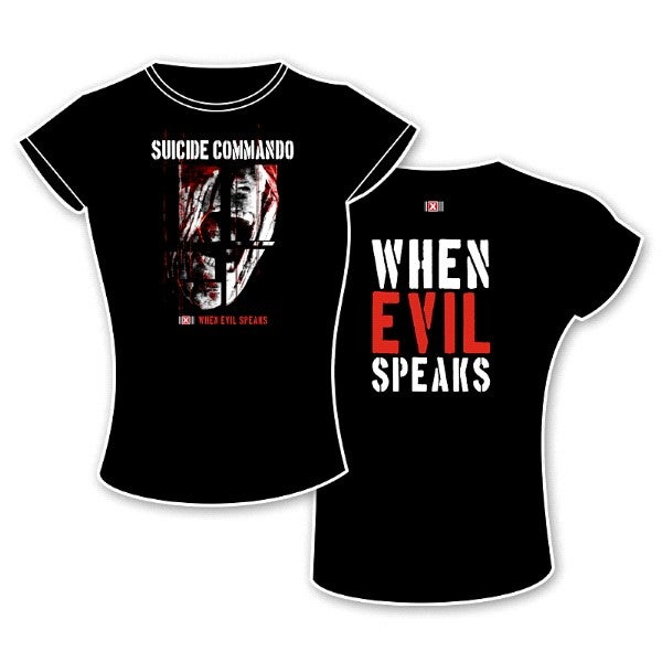 Image of when evil speaks t-shirt