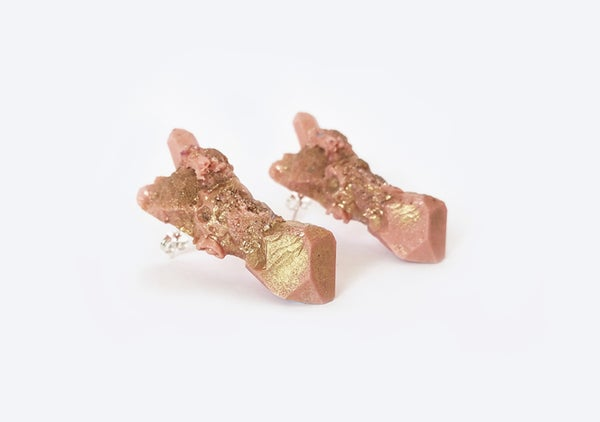 Image of CELESTIAL STUD EARRINGS - Dusk
