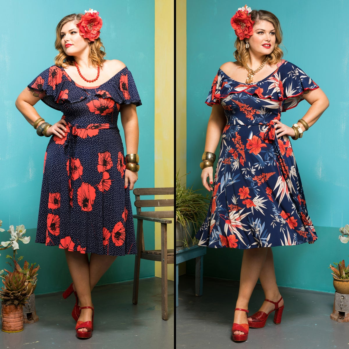 Image of RUMBA RUFFLE DRESS (other options available)