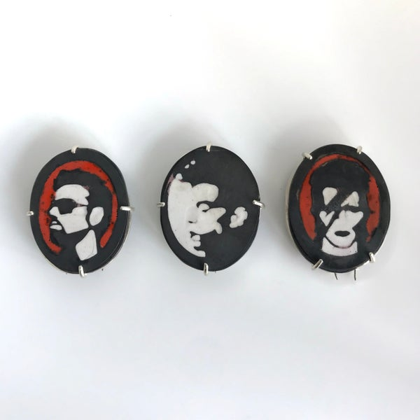 Image of In Memoriam Brooches