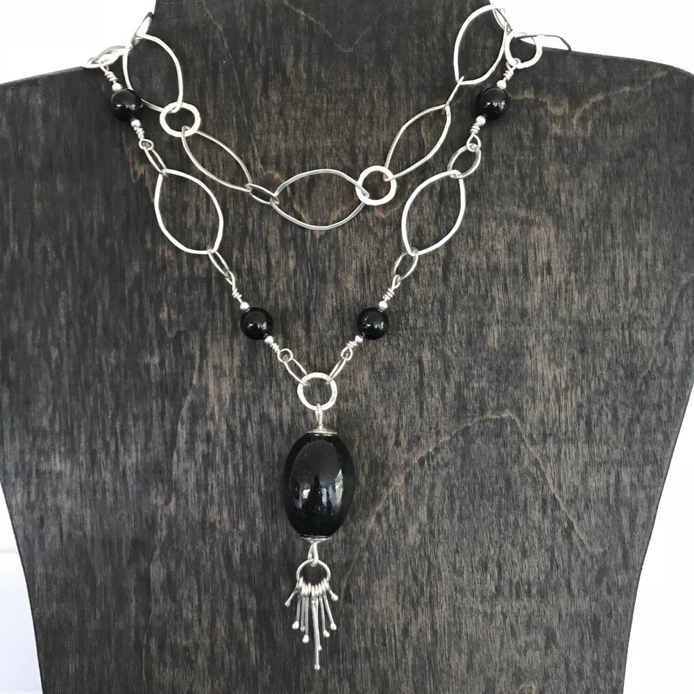 Image of Long Bead Necklace