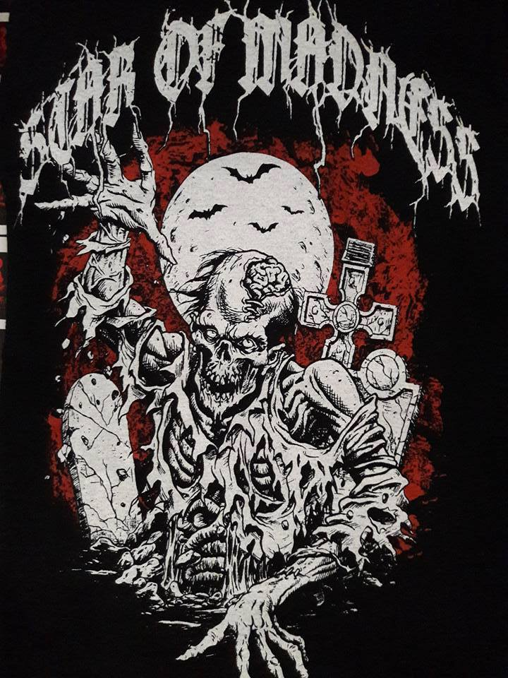 Image of Star of Madness - The Truth Beneath CD  Shirt Zombie Package II