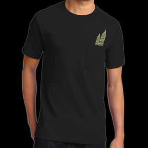 Image of Canna Cigar Pocket T - Black