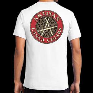 Image of Canna Cigar Pocket T - White